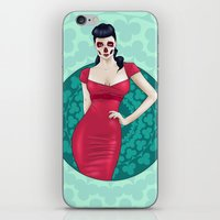 SkullGal iPhone & iPod Skin