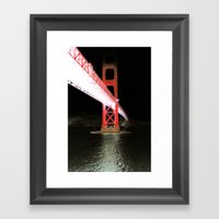 Midnight San Francisco  Framed Art Print