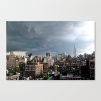 Taking The City By Storm Canvas Print