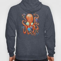 Comic Book Octopus Hoody