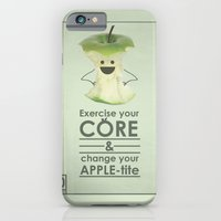 iPhone & iPod Case featuring apple-tite by JosephMills
