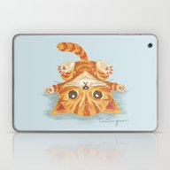 Laptop & iPad Skin featuring Cat by Toru Sanogawa
