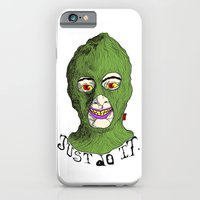 iPhone & iPod Case featuring just do it by Marcelo O. Maffei