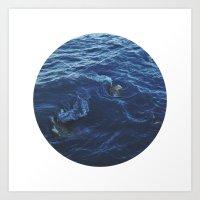 Planetary Bodies - Swirl Art Print