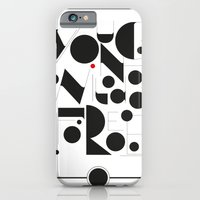 B&W Typography iPhone 6 Slim Case