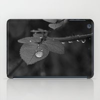 Tear Drop Black & White  iPad Case