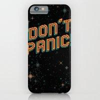 Don't Panic! Pixel Art iPhone 6 Slim Case