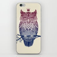 Warbird (Great-horned Ow… iPhone & iPod Skin