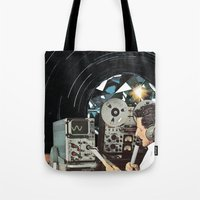 Distorted Thoughts Tote Bag