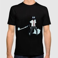 Rin Okumura Mens Fitted Tee Black SMALL