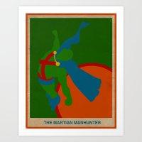 Martian Manhunter Art Print