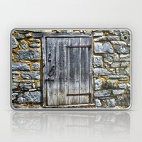 Door at the Mill Laptop & iPad Skin