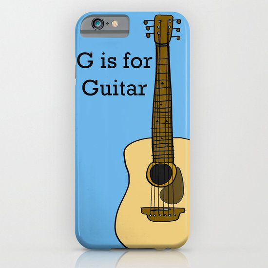 G is for Guitar iPhone & iPod Case