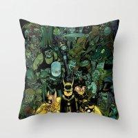 Lil' Bats Throw Pillow
