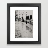 On The Streets Of Cambri… Framed Art Print