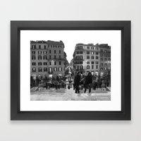 A Nice Day To Be A Touri… Framed Art Print