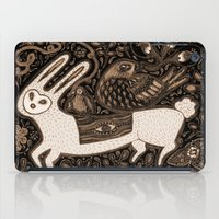 White Rabbit iPad Case