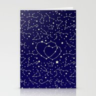 Star Lovers Stationery Cards