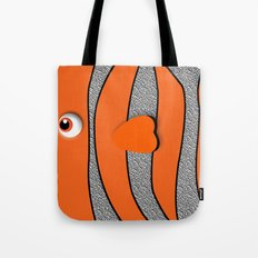 Ornamental Orange Fish Apple iPhone 4 4s 5 5s 5c, ipod, ipad, pillow case and tshirt Tote Bag