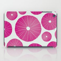Sea's Design - Urchin Skeleton (Deep Pink) iPad Case