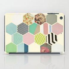Florals and Stripes iPad Case