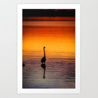 Art Print featuring Tranquility by JMcCool
