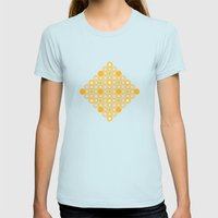 Circle A Womens Fitted Tee Light Blue SMALL