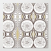 Spin & Spin Canvas Print