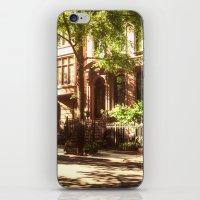 New York City Brownstones iPhone & iPod Skin