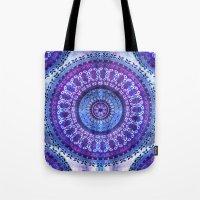 Hydrangea Mandala Tote Bag