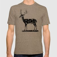 No Title-86 Mens Fitted Tee Tri-Coffee SMALL