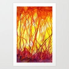 Hot Heat Ha! Art Print