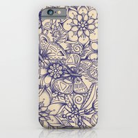 butterfly iPhone & iPod Cases featuring Circle of Friends by micklyn