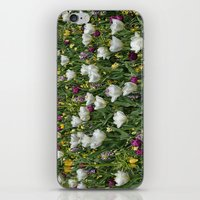 Blumen Beet  iPhone & iPod Skin