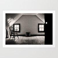 The Room Upstairs Art Print
