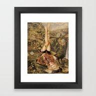 New Life *collage Framed Art Print