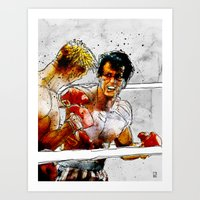 Boxing: Rocky Balboa Vs … Art Print