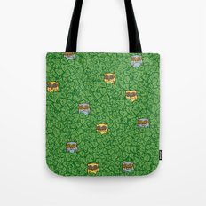 Little Leafy Friends Tote Bag