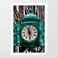 'Clock' Art Print