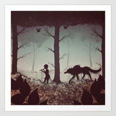 Wolf Parade Art Print