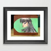 mika Framed Art Print