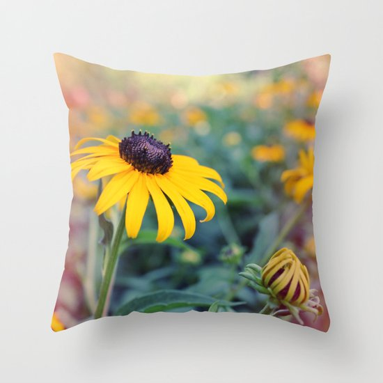 Flower series 04 Throw Pillow