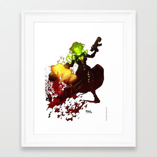 Anne Frankenstein AF2 Framed Art Print