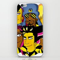WE ARE GLAMILY (the Simpsons version) iPhone & iPod Skin