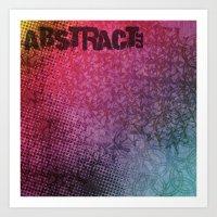 Abstract373 Art Print