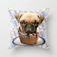 pupcake Throw Pillow