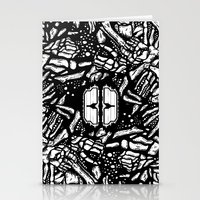 Broken bones, angry fists Stationery Cards