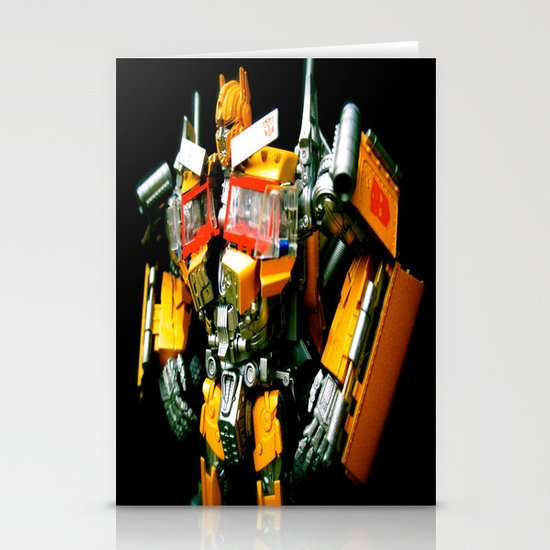 The Golden Optimus Stationery Card