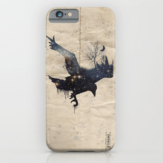 Space Raven iPhone & iPod Case