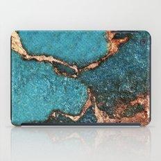 AQUA & GOLD GEMSTONE iPad Case